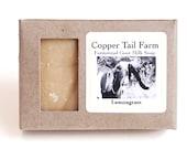 Organic Lemongrass Goat Milk Soap