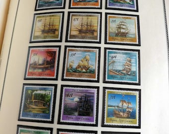 Postage Stamp collection Australia and Dependencies 1940-1980
