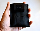 Front Pocket Wallet - Small Credit Card Holder - Minimalist Wallet - Vegan Seatbelt Wallet