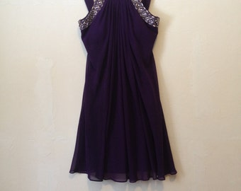 Beaded Purple Prom Evening Gown New Item In The Dollar Store