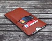 iPhone 7 leather case, iPhone 6 leather case, iPhone Leather case, iPhone leather sleeve, garny