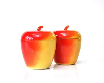 Mid-Century Apple Jelly Jar