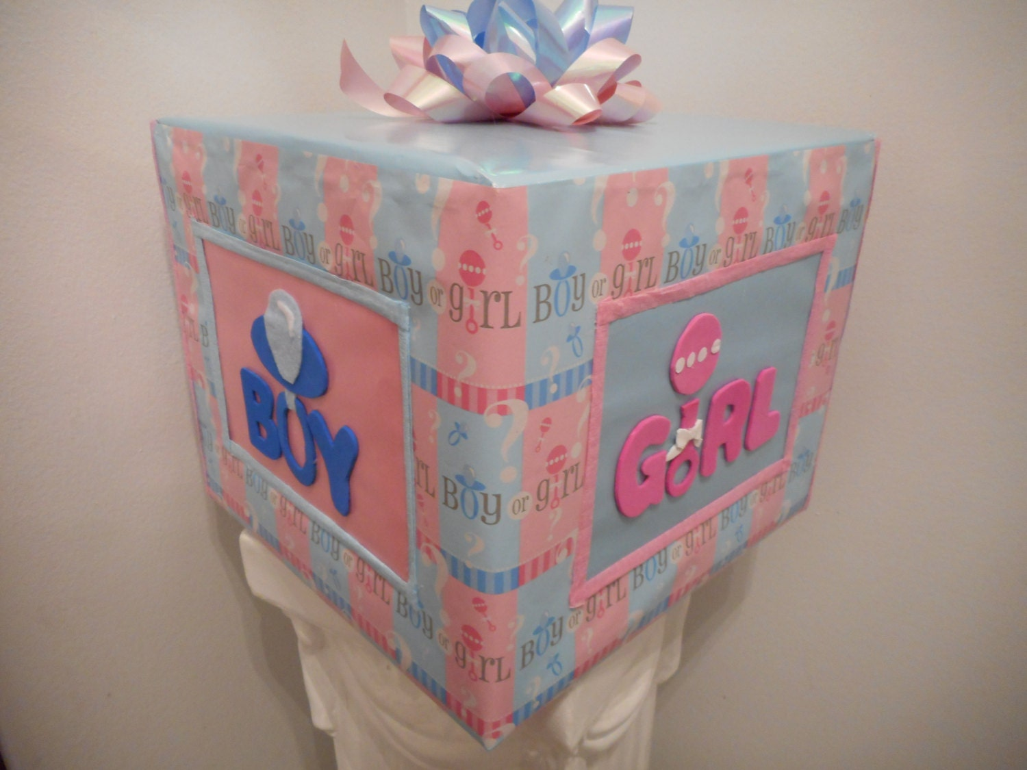 gender reveal baby shower pull string pinata it 39 s a girl