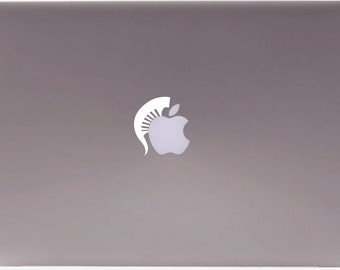 Michigan State inspired MacBook, iPad, and iPhone decal.  Show off your love for the Spartans and Detroit with this unique look.