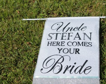Personalized Wedding Banner
