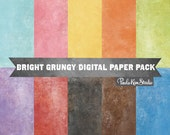 Grungy Texture Digital Paper Pack, Instant Digital Download, Background Digital Paper, Digital Scrapbook Paper, Commercial Use