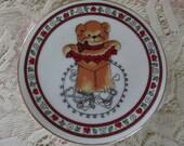 Vintage Collectible Valentine Plate