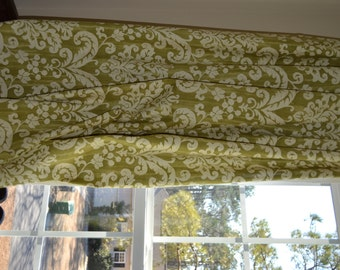 """Sell, Custom Made Window Curtain or Drape 50"""" wide x 84"""" long, any size available, Lining included"""