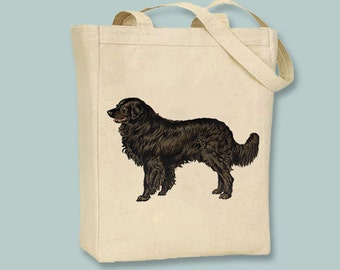 Vintage Newfoundland Dog iCanvas Tote -- Selection of  sizes available