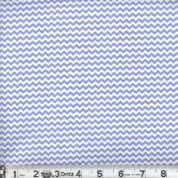 Mini chevron fabric,Periwinkle blue chevron fabric,Small chevron,100% cotton,Quilt fabric,Apparel fabric,Sold by FAT QUARTER INCREMENTS