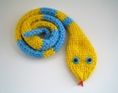 Funny Scarf - snake scarf - unisex scarf - child's scarf - animal scarf - funny kid's gift
