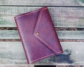 Oilskin Envelope Style Journal Cover : Made to Order