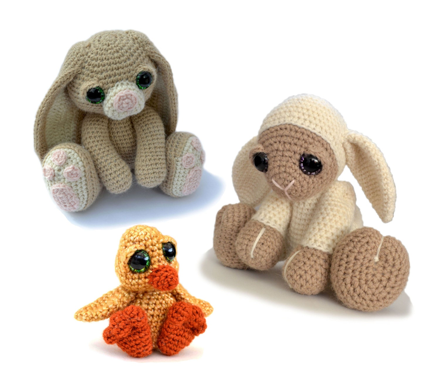 amigurumi ostern h keln muster bundle f r hase von patchworkmoose. Black Bedroom Furniture Sets. Home Design Ideas