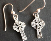 Celtic Cross Celtic Knot earrings