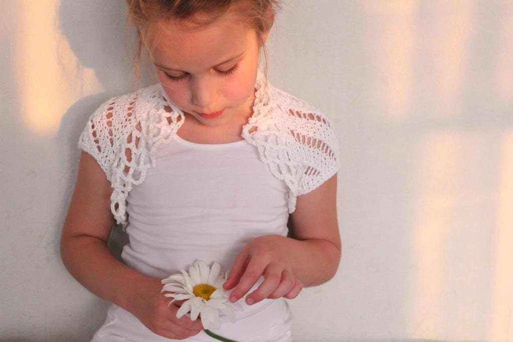 Find great deals on eBay for girls white shrug. Shop with confidence.