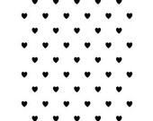 MINI HEARTS Embossing Folder by Darice