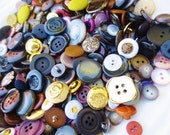 Huge Vintage Buttons Lot Assortment