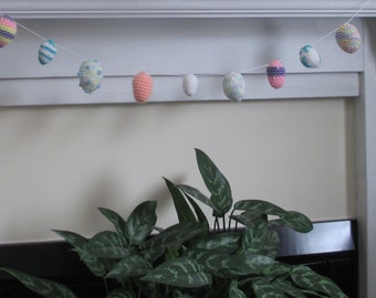Easter Egg Garland, Easter Decoration, Easter Garland, Spring Decoration