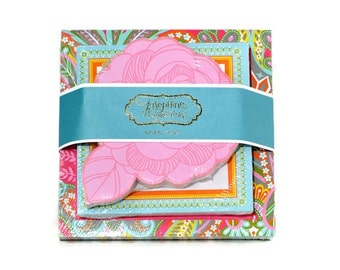 Triple Note Pad Caravan Dreams set - Pretty stationery for stationery lovers. Valentines Day Gifts