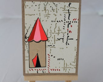 Circus Tent,  Miniature Journal