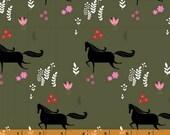 Wild Field - Mini Horses by Dinara Mirtalipova from Windham Fabrics
