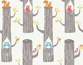 Circa 52 - Woodland Friends - Organic Cotton Fabric by Monaluna from Birch Fabrics