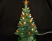 "13""  light up christmas tree all new"
