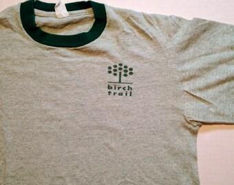 Vintage 1960's Birch Trail t-shirt, M-L