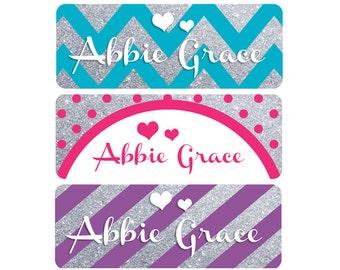 Name Labels, Baby Bottle Labels, Daycare Labels, Waterproof Name Labels, Personalized Waterproof Labels, Waterproof Labels, Girl Labels
