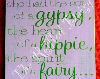 Gypsy Soul/Fairy Heart