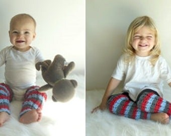 Custom Made to ORder Knit Leg Warmers Infant/Toddler Size, Many Colors Available