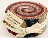 Rue Indienne jelly rolls by French General  for moda fabric