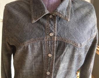 Ring Spun Denim Matching Shirt and Skirt