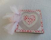 Valentines Mini Scrapbook Album 6x6