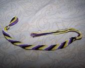 Nonbinary Pride Friendship Bracelet