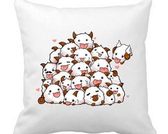 League of Legends Poro bunch Pillow sleeve