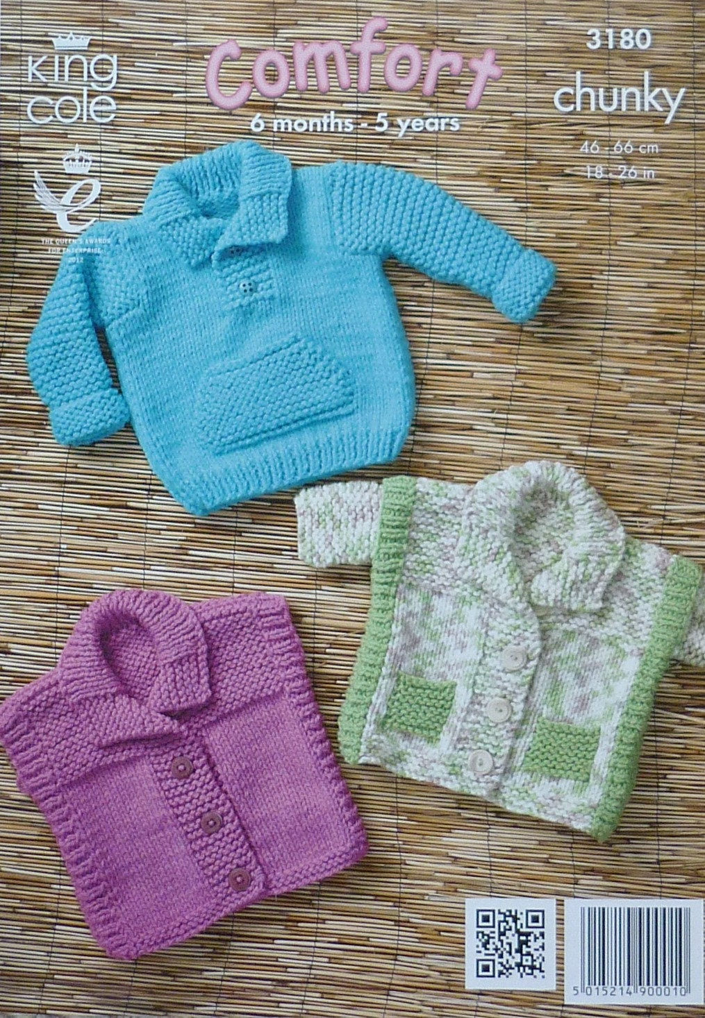Knitting Patterns Childrens Jumpers : Childrens Knitting Pattern K3180 Childrens Easy Knit Jumper