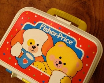 Fisher Price Toy vintage lunch box