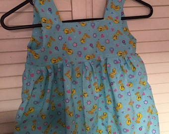 Tweety Bird dress