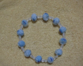 Lt. Blue Stretch Bracelet