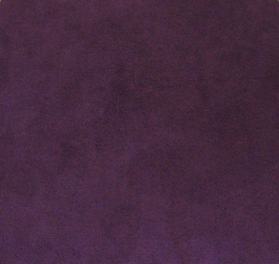 Plum purple ultrasuede fabric for bead embroidery