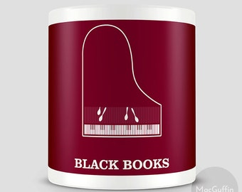 Black Books mug (Made to order)