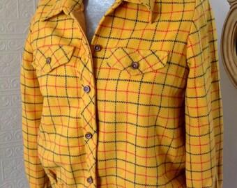 Gorgeous Vintage Wool Wippette Sportswear jacket!