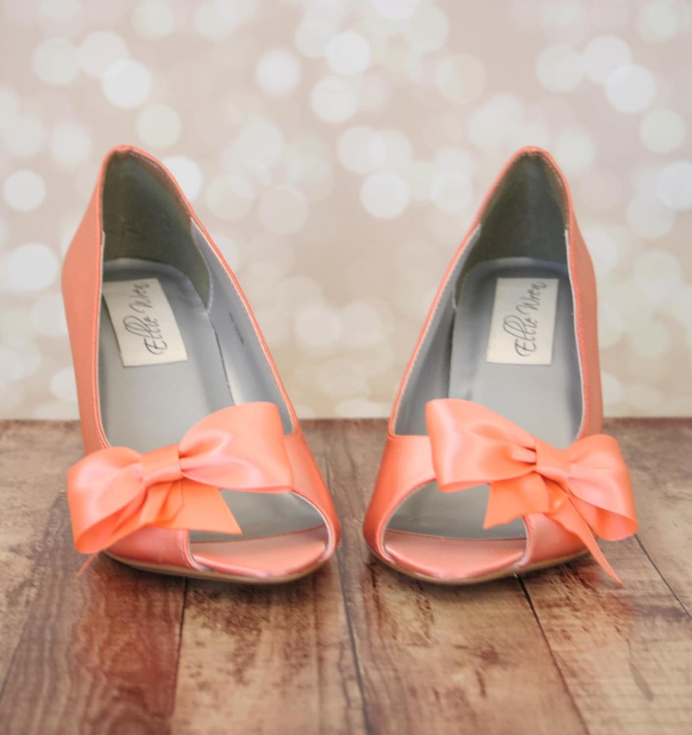 Peach Wedding Shoes 013 - Peach Wedding Shoes