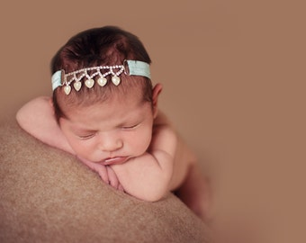 Baby girl headband - Baby Girl - Newborn Headband - Infant Headband - Baby Headbands