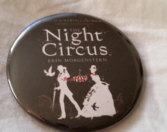 "The Night Circus Cover Erin Morgenstern Book Pinback Button 2.25"""