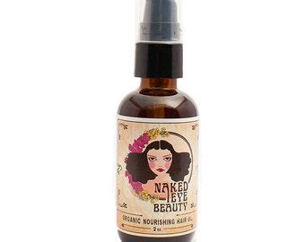 Organic Nourishing Hair Oil 2 oz.