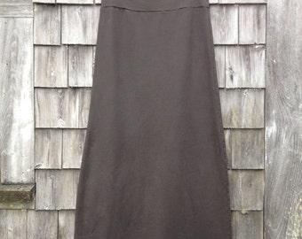 organic cotton / modal long skirt