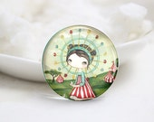 10mm 12mm 14mm 16mm 18mm 20mm 25mm 30mm Handmade Round Photo Glass Cabochon Dome Cute Pattern Glass Cabs  (P2569)