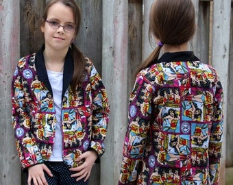 Roxie's Fitted Blazer for Tweens PDF Pattern Sizes 7/8 to size 15/16